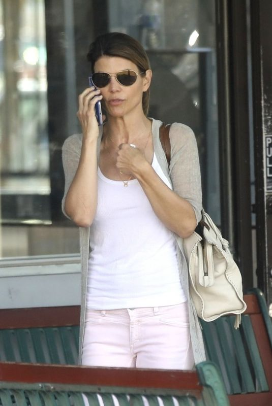 LORI LOUGHLIN Out and About in Los Angeles 04/09/2019