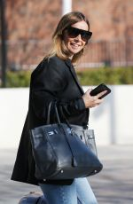 LOUISE REDKNAPP at ITV Studios in London 04/11/2019