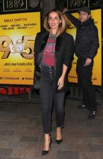 LOUISE REDKNAPP Leaves 9 to 5 the Musical at Savoy Theatre 04/12/2019