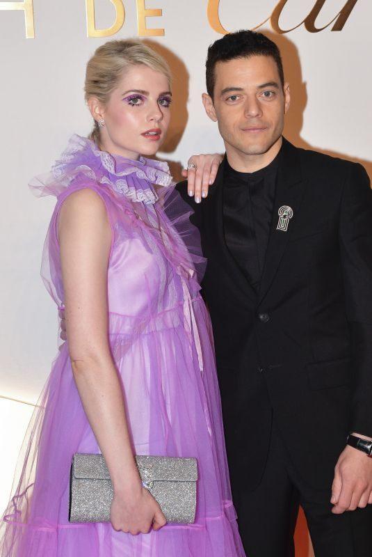 LUCY BOYNTON and Rami Malek at Clash De Cartier Launch Photocall in Paris 04/10/2019