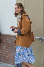 LUCY FRY Out and About in Beverly Hills 04/05/2019
