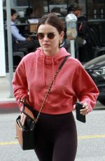 LUCY HALE at Joan