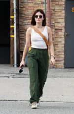 LUCY HALE Leaves Alfred