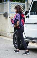 LUCY HALE Out and About in Studio City 04/20/2019