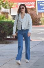 LUCY HALE Out in Studio City 04/21/2019