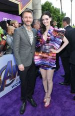 LYDIA HEARST at Avengers: Endgame Premiere in Los Angeles 04/22/2019
