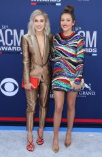 MADDIE & TAE at 2019 Academy of Country Music Awards in Las Vegas 04/07/2019