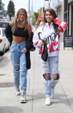 MADISON BEER and ISABELLE JONES Out in Los Angeles 04/05/2019