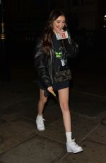 MADISON BEER Arrives at Hippodrome Casino in Leicester Square 04/02/2019