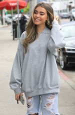 MADISON BEER Leaves a Hair Salon in West Hollywood 04/04/2019