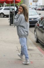 MADISON BEER Out in West Hollywood 04/04/2019