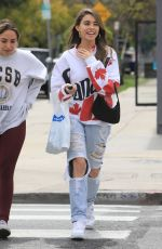 MADISON BEER Out Shopping on Melrose Avenue in Los Angeles 04/05/2019