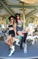 MADISON REED and VICTORIA JUSTICE at Revolve Party at Coachella Festival in Indio 04/13/2019
