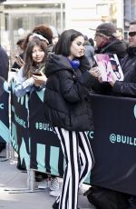 MAGGIE LINDEMANN Arrives at Build Studios in New York 04/04/2019