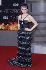 MAISIE WILLIAMS at Game of Thrones, Season 8 Premiere in New York 04/03/2019