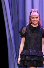 MAISIE WILLIAMS at Tonight Show Starring Jimmy Fallon 04/01/2019