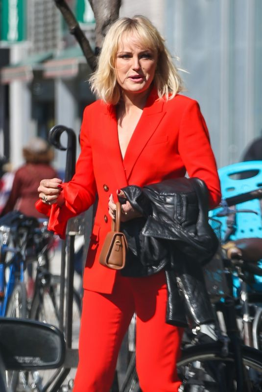 MALIN AKERMAN Out and About in New York 04/04/2019