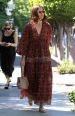 MANDY MOORE Out and About in West Hollywood 04/01/2019