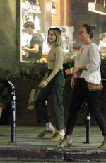 MARGOT ROBBIE Leaves a Restaurant in Los Angeles 04/02/2019