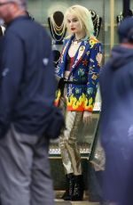MARGOT ROBBIE on the Set of Birds of Prey in Los Angeles 04/05/2019