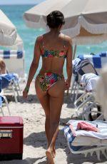 MARIA HERING in Bikini at a Beach in Miami 04/07/2019