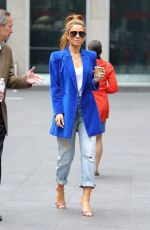 MARIA MENOUNOS Out in New York 04/09/2019