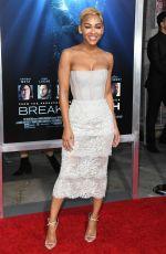 MEAGAN GOOD at Breakthrough Premiere in Los Angeles 04/11/2019