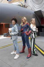 MEG DONNELLY at Disney Channel Fan Fest in Anaheim 04/27/2019