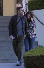 MEGAN FOX and Brian Austin Green Out in Los Angeles 04/02/2019