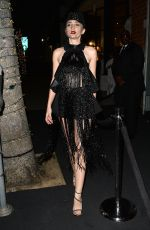 MEGAN POMER at Mr Chow in Beverly Hills 04/10/2019