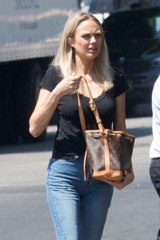 MELISSA ORDWAY in Jeans Out for Coffee in Los Angeles 04/25/2019