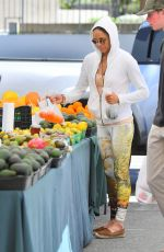MICHELLE RODRIGUEZ at Farmers Market in Los Angeles 04/04/2019
