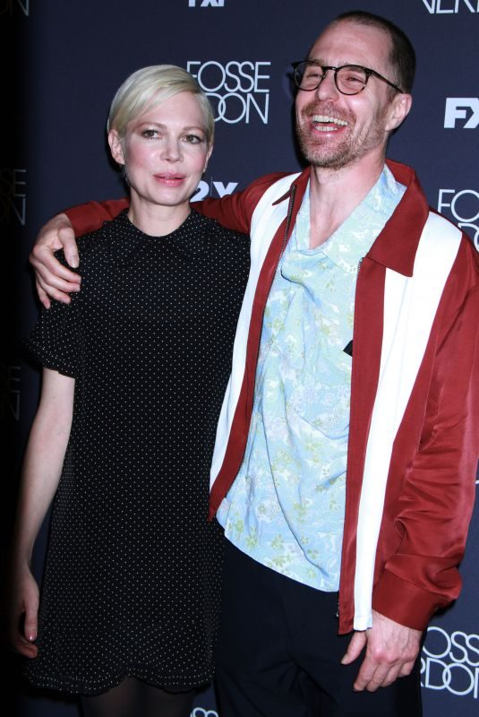MICHELLE WILLIAMS and Sam Rockwell at Fosse/verdon Screening and Conversation in New York 04/18/2019