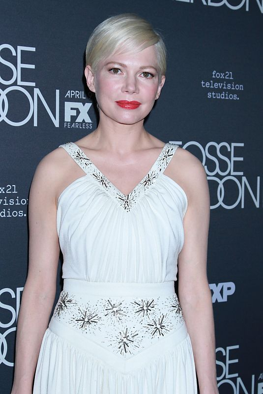 MICHELLE WILLIAMS at Fosse/Verdon Show Premiere in New York 04/08/2019