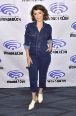 MILANA VAYNTRUB at Marvel Rising Press Line at WonderCon in Anaheim 03/31/2019