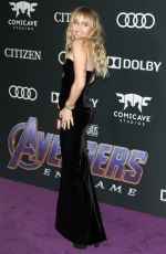 MILEY CYRUS at Avengers: Endgame Premiere in Los Angeles 04/22/2019