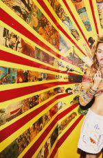 MILEY CYRUS for Von Magazine, Cinema Issue