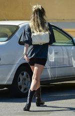 MILEY CYRUS Out and About in Studio City 04/25/2019