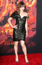MILLA JOVOVICH at Hellboy Premeire in New York 04/09/2019