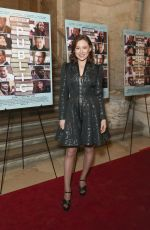 MINA SUNDWALL at The Public Premiere in New York 04/01/2019