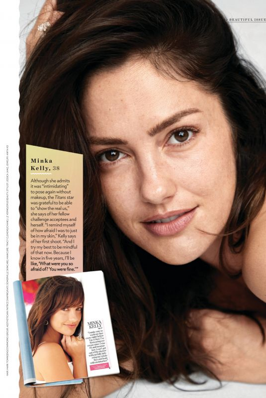 MINKA KELLY In People Magazine, May 2019