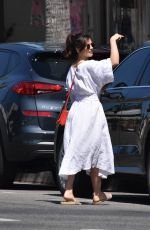 MINKA KELLY Out and About in Los Angeles 04/22/2019