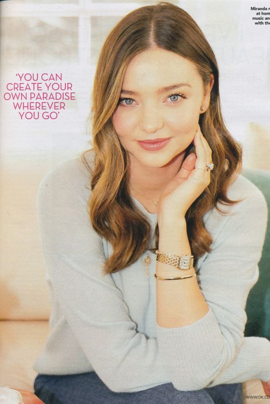 MIRANDA KERR in Ok! Magazine, April 2019