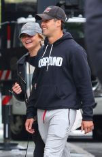 MIRANDA LAMBERT and Brendan McLoughlin Out in New York 04/27/2019