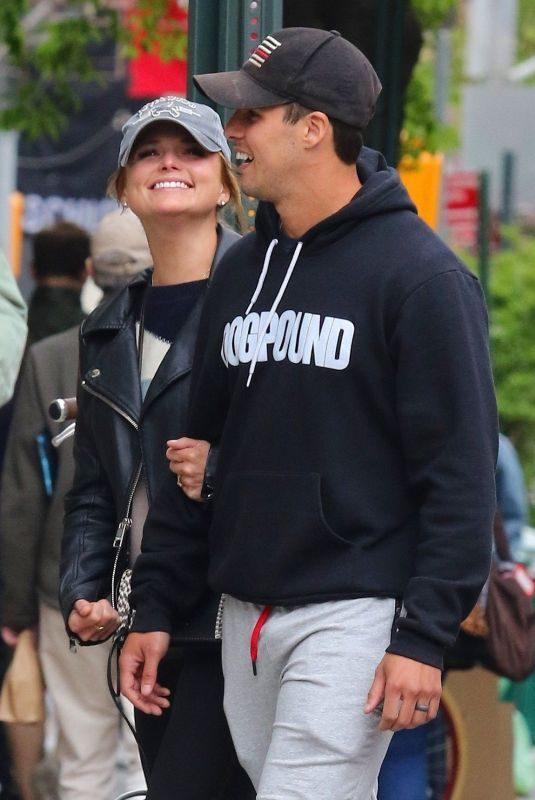 MIRANDA LAMBERT and Brendan McLoughlin Out in New York 04/27/2019