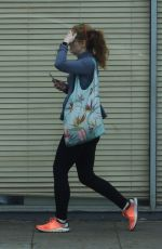 MIRANDA OTTO Out Shopping in Beverly Hills 04/16/2019