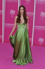 MIRIAM LEONE at 2nd Canneseries International Series Festival Opening in Cannes 04/05/2019