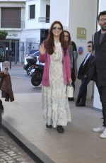 MIRIAM LEONE at Hotel Martinez in Cannes 04/07/2019