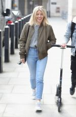 MOLLIE KING at BBC Studio in London 04/13/2019