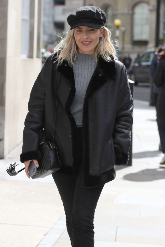 MOLLIE KING Out and About in London 04/04/2019